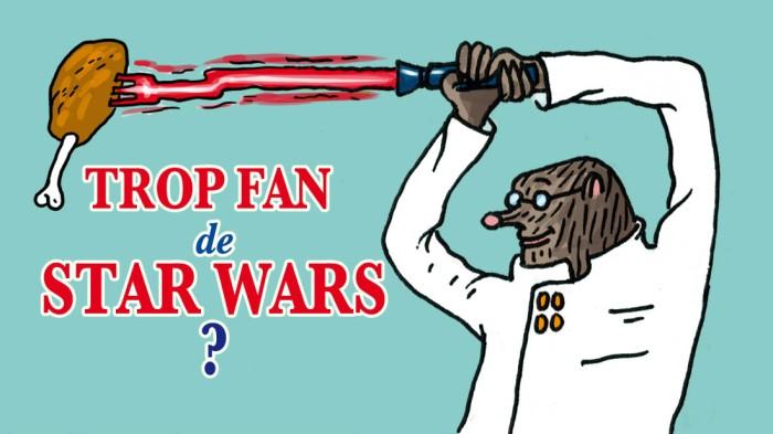 Taupe Chef, trop fan de Star Wars ?
